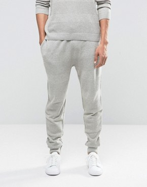 ASOS Knitted Joggers With Textured Stitch