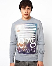 River Island Sweatshirt With 1978 Print