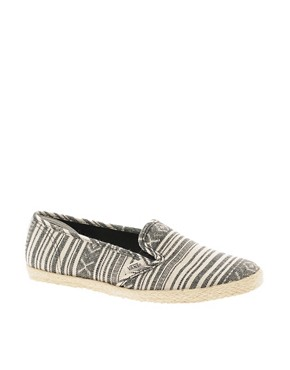 Image 1 ofVans Slip On Low Pro Stripe Espadrilles