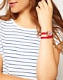 Image 3 ofAccessorize Double Wrap Flag Watch