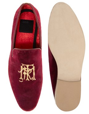 Image 3 of ASOS Loafers With Embroidery Detail