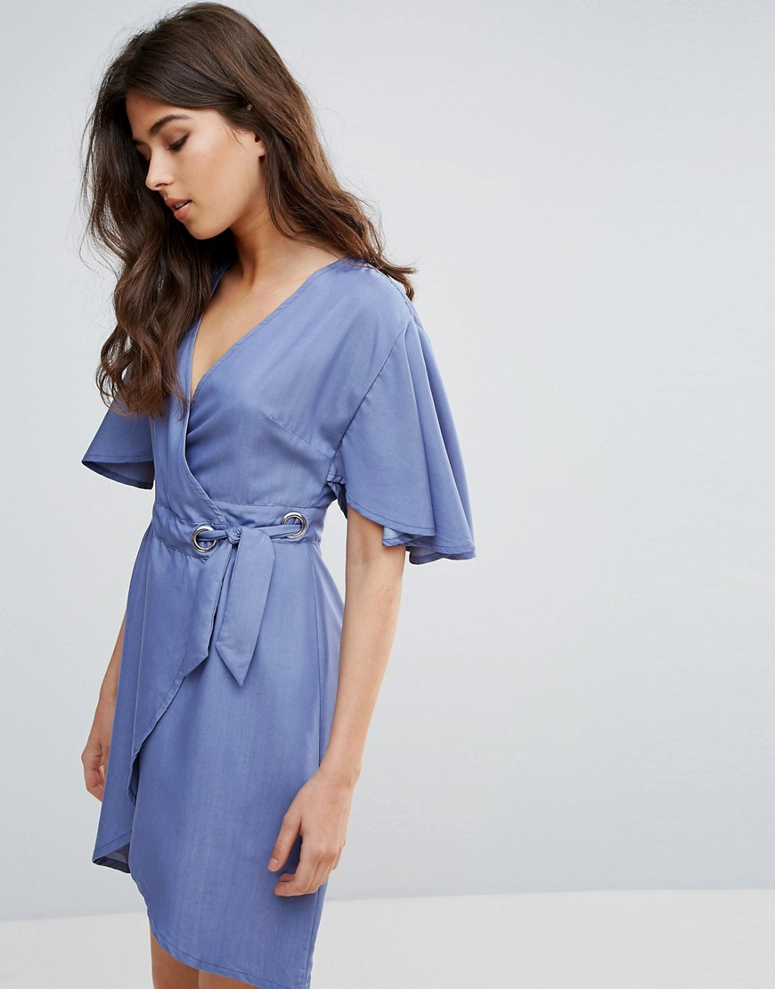 A State Of Being Embrace Wrap Dress