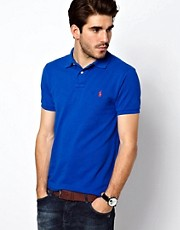 Polo Ralph Lauren Polo Shirt In Overdyed Bright Blue