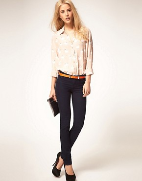 Image 4 ofASOS Shirt With Swan Print
