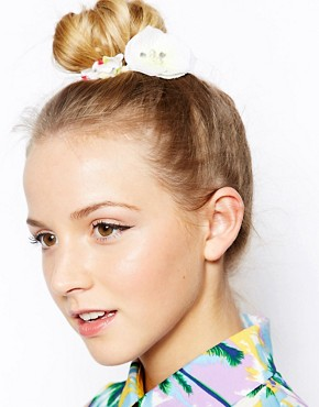 Image 1 of Erin Elizabeth For Johnny Loves Rosie Cream Rose Bun Surround