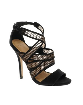 Image 1 ofASOS HURDLE Heeled Sandals