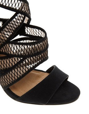 Image 3 ofASOS HURDLE Heeled Sandals