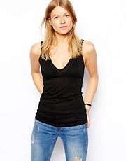 ASOS Vest with V Neck and Back