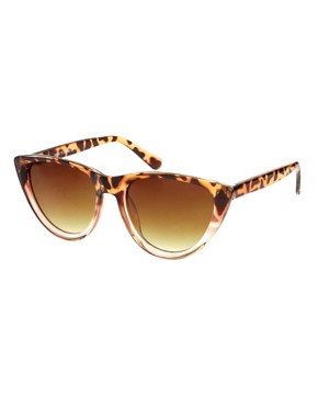 Image 1 ofASOS Mix Frame Cat Eye Sunglasses