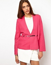 BACK By Ann-Sofie Back Belted Jacket