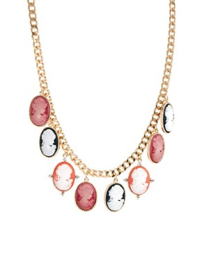Image 3 ofASOS Cameo Collar Necklace