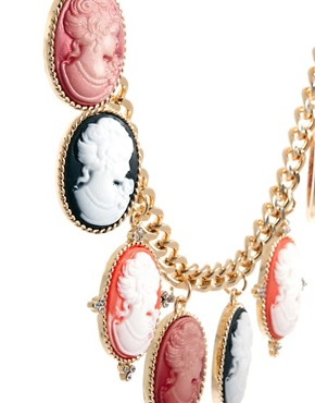 Image 4 ofASOS Cameo Collar Necklace