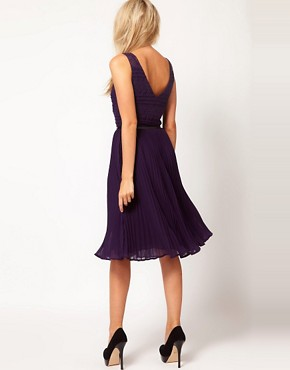 Image 2 of Oasis Stripe Lace Dress