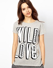 River Island Wild Love Tee