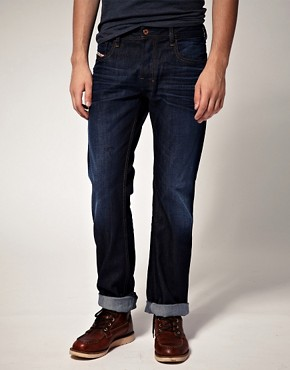 Image 1 ofDiesel Zathan 73N Bootcut Jeans