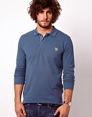 Paul Smith Jeans Polo with Zebra Long Sleeved