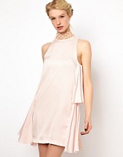 Kore by Sophia Kokosalaki Lace Neck Tie Dress