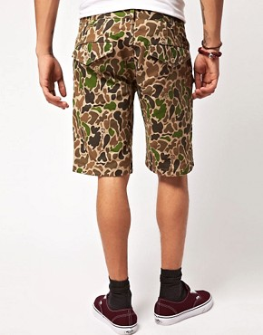 Image 2 ofSilas Slam City Skates Colab Camo Shorts