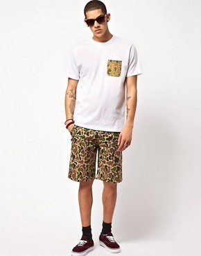 Image 4 ofSilas Slam City Skates Colab Camo Shorts
