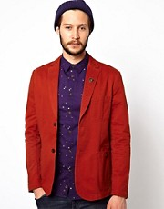 Farah Vintage Blazer with Patch Pockets