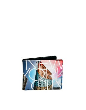 Image 1 ofRiver Island Wallet NYC Print