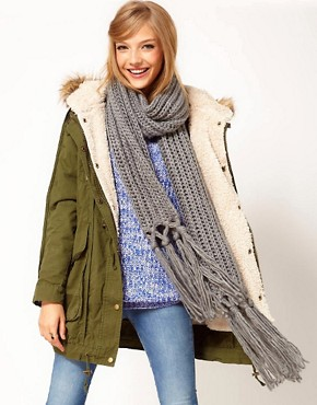 Image 1 ofASOS Long Basic Scarf