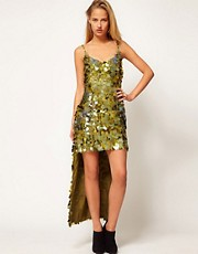 ASOS Revive Sequin Maxi Dress