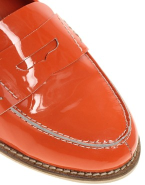 Image 2 of ASOS MACABEE Patent Leather Loafer