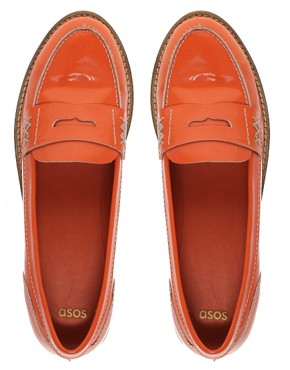 Image 3 of ASOS MACABEE Patent Leather Loafer