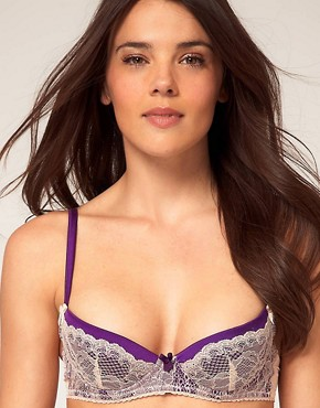 Image 1 ofMimi Holliday Sea Breeze Lace Super Padded Plunge Bra