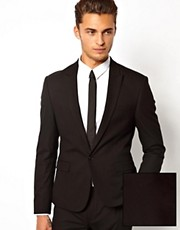 ASOS Skinny Fit Suit Jacket In Black
