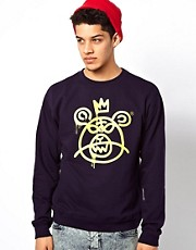 Mishka Crew Sweatshirt Bear Mop