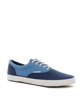 Image 1 of Jack & Jones Kos Plimsolls