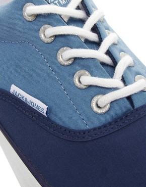 Image 2 of Jack & Jones Kos Plimsolls
