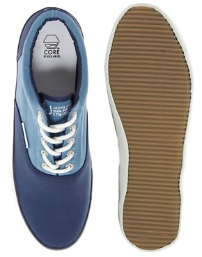 Image 3 of Jack & Jones Kos Plimsolls