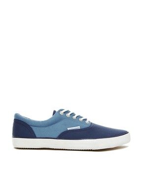 Image 4 of Jack & Jones Kos Plimsolls