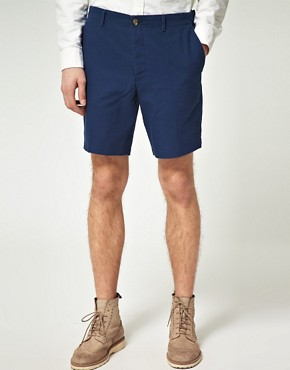 ASOS Smart Shorts in Indigo