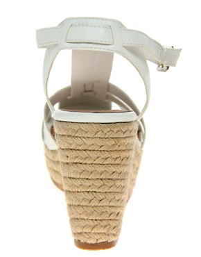 Image 2 ofASOS HOST Gladiator Espadrille Wedges