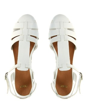 Image 4 ofASOS HOST Gladiator Espadrille Wedges