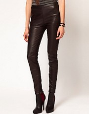 Selected Sabrina Leather Trouser