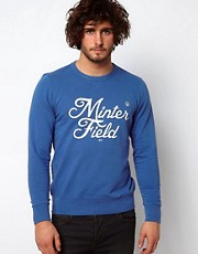 Paul Smith Jeans Sweatshirt with Minter Field Applique