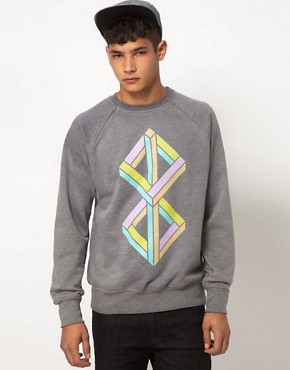 Image 1 ofMy Yard Cubism Sweatshirt
