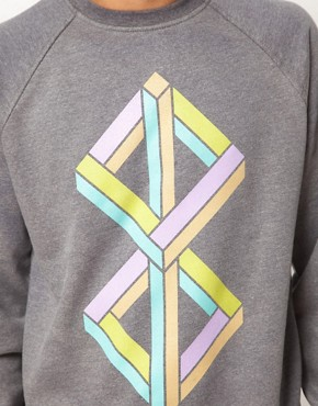 Image 3 ofMy Yard Cubism Sweatshirt