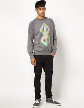 Image 4 ofMy Yard Cubism Sweatshirt