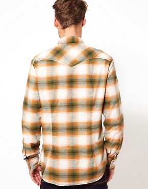 Image 2 ofDiesel Shirt Long Sleeve Sulphur Check