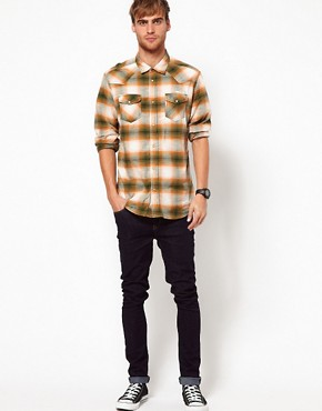 Image 4 ofDiesel Shirt Long Sleeve Sulphur Check