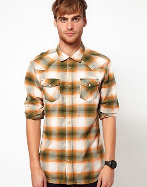 Image 1 ofDiesel Shirt Long Sleeve Sulphur Check