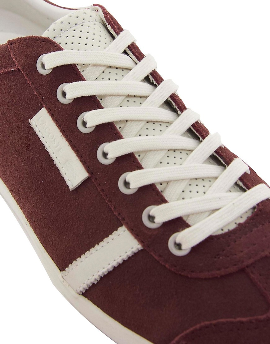Image 2 of Lacoste Brendel Suede Trainers