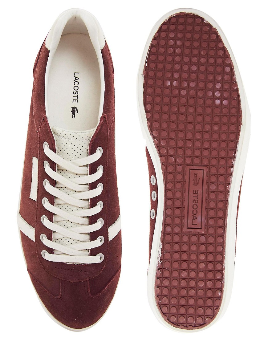 Image 3 of Lacoste Brendel Suede Trainers