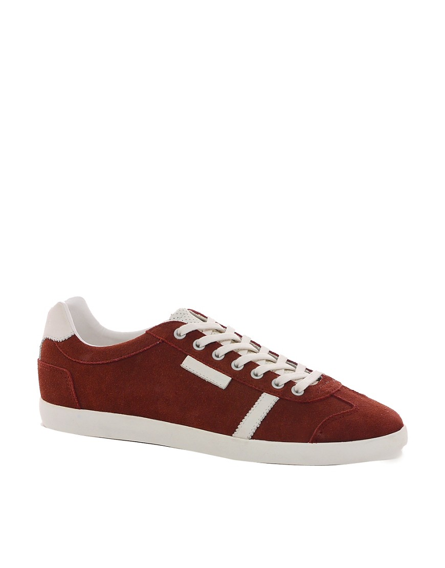Image 1 of Lacoste Brendel Suede Trainers